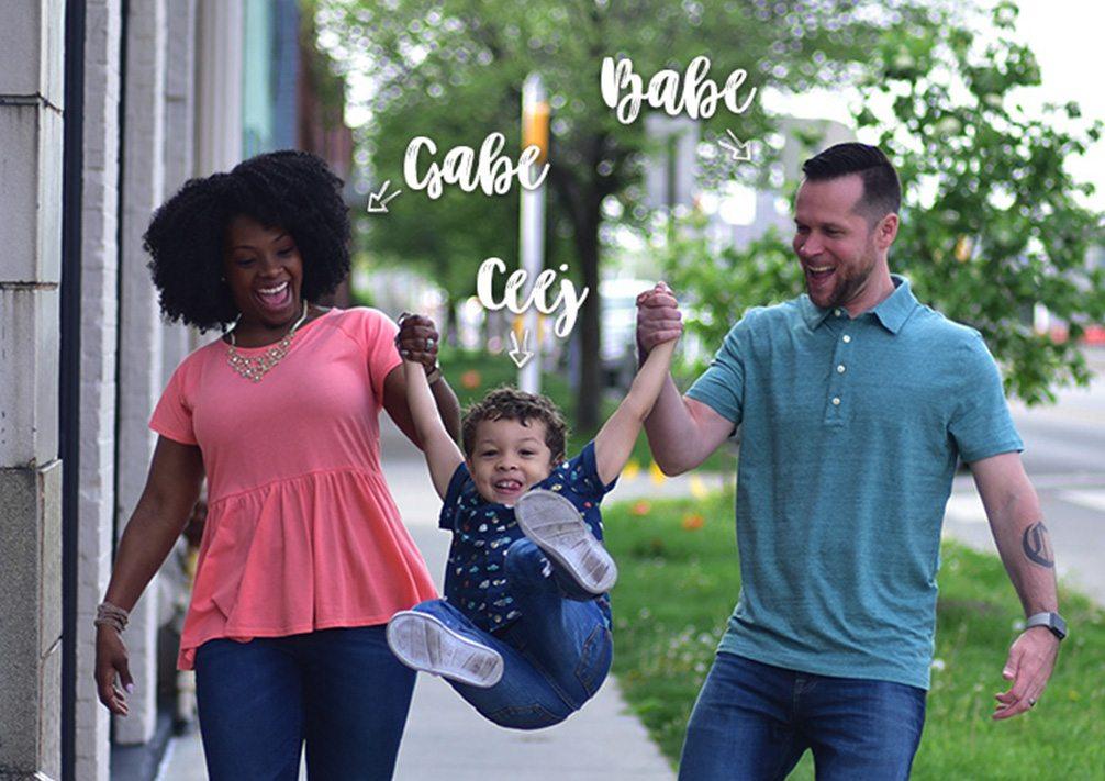 Gabrielle, Ceej and Chad